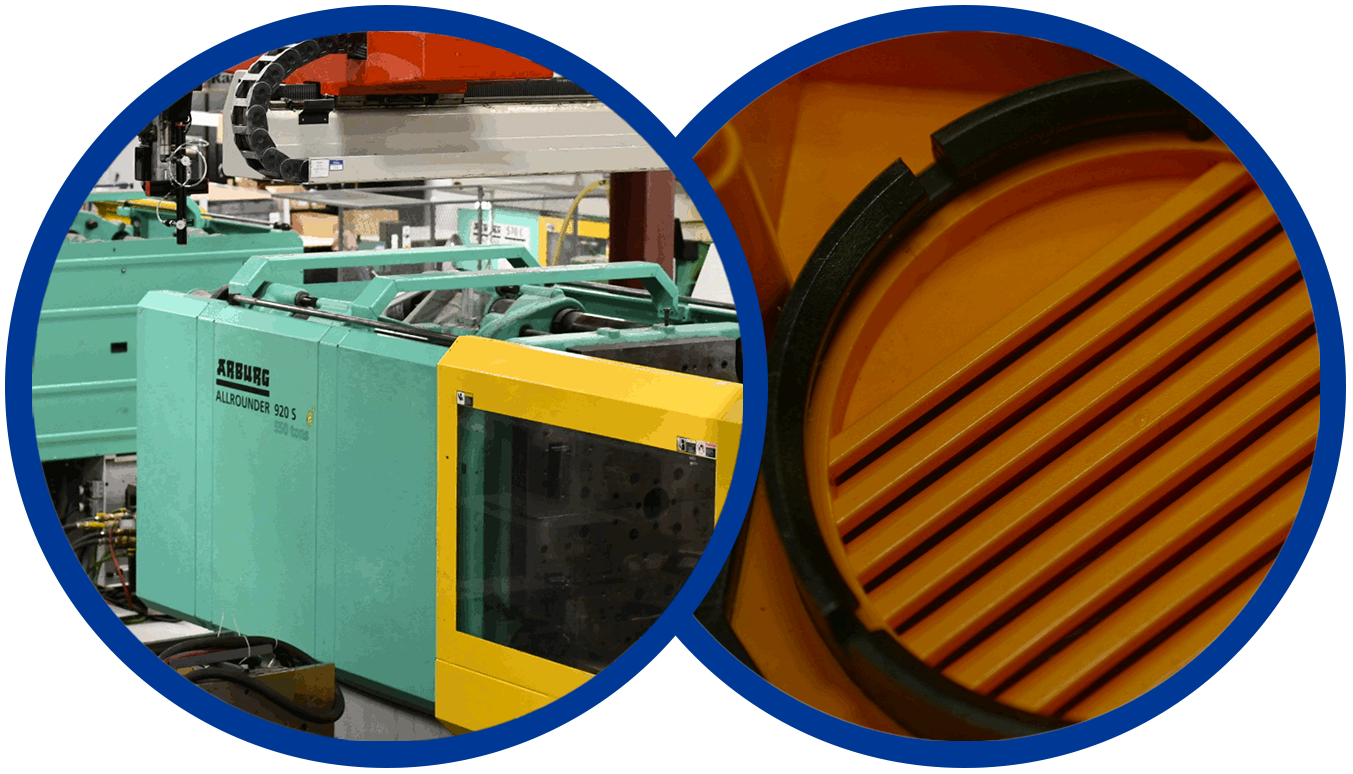 Molding equipment and molded finished product
